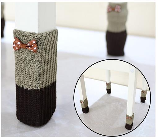 Hh159 Chair Socks 2 Layer Furniture Leg Table Floor Protector