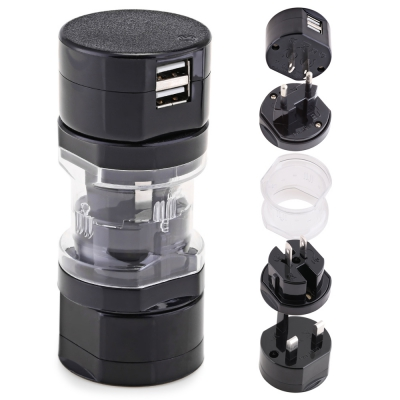 HHT - 301U Mini Size Travel Adapter International Plug