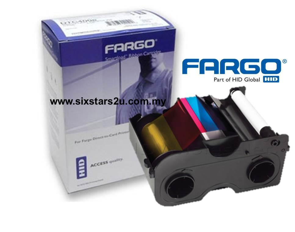 HID FARGO COLOUR RIBBON - YMCKT #45500