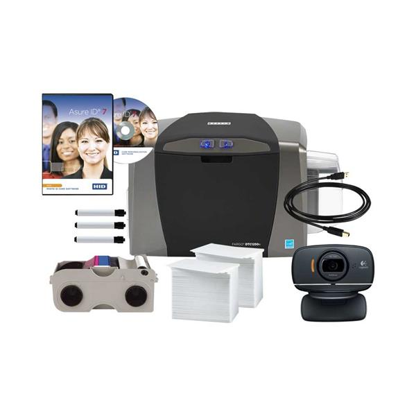 HID FARGO DTC1250e ID CARD PRINTER (WITH WEBCAM)