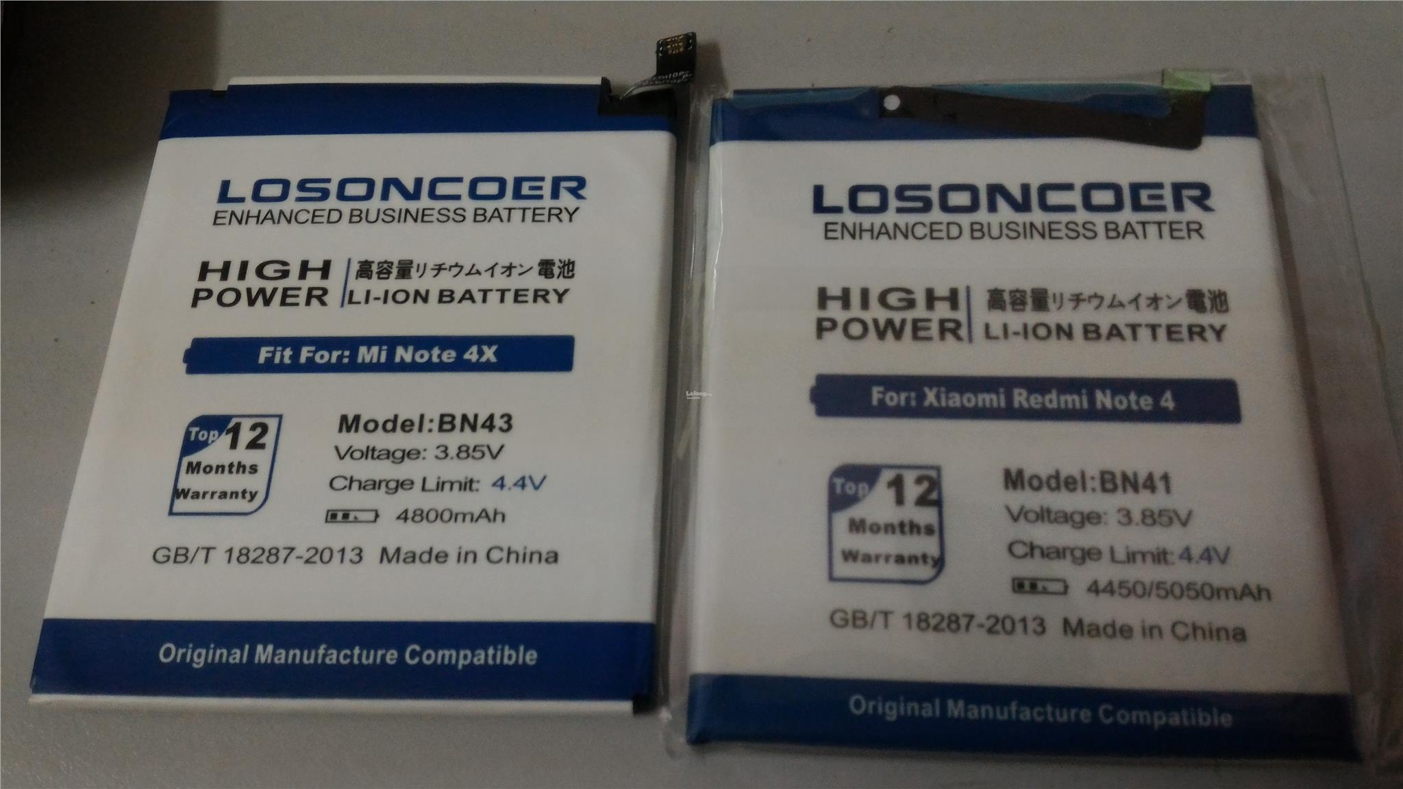 high capacity battery BN41,BN43,BM45
