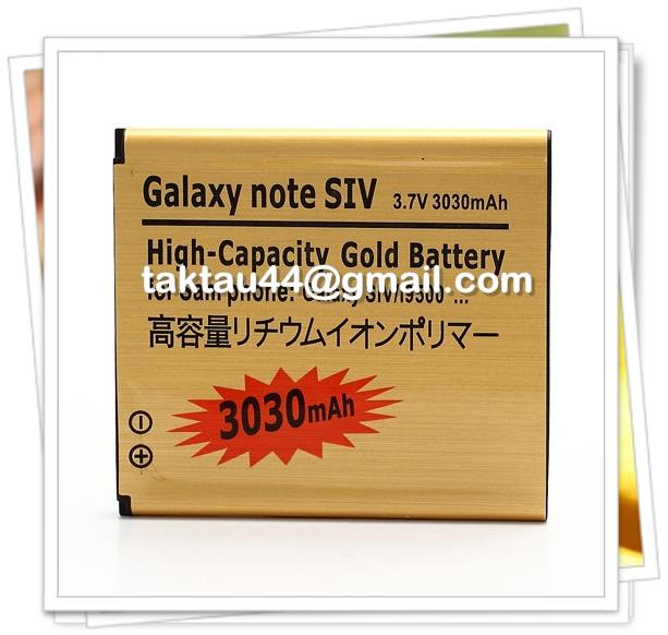 New High Capacity Samsung Galaxy S4 i9500 3030mAh S4 Battery