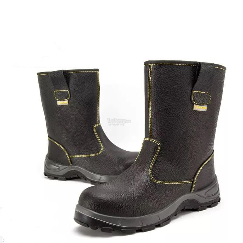 e47b4cb00a11 High Cut Safety Boots - c/w Steel ToeCap, Steel Plate and Waterproof