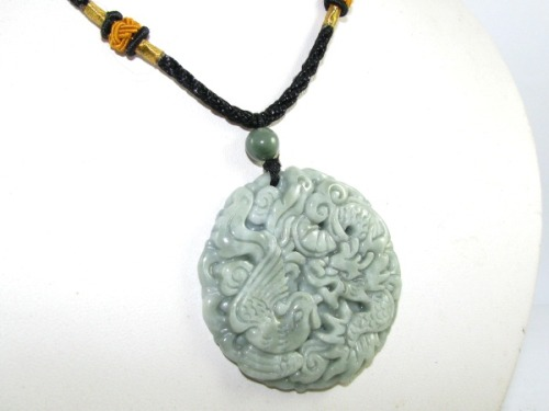 High grade dragon and phoenix jade end 12232018 433 pm high grade dragon and phoenix jade pendant necklace aloadofball Image collections
