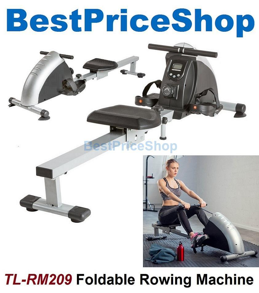 High Grade Foldable Rowing Machine Fitness Gym Cardio Workout Exercise