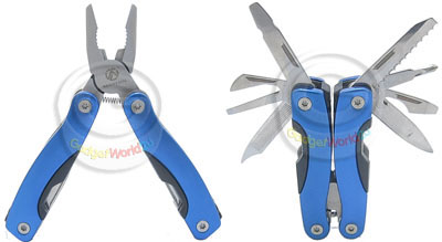 High Grade Mini Stainless Steel MultiTool Plier + Pouch