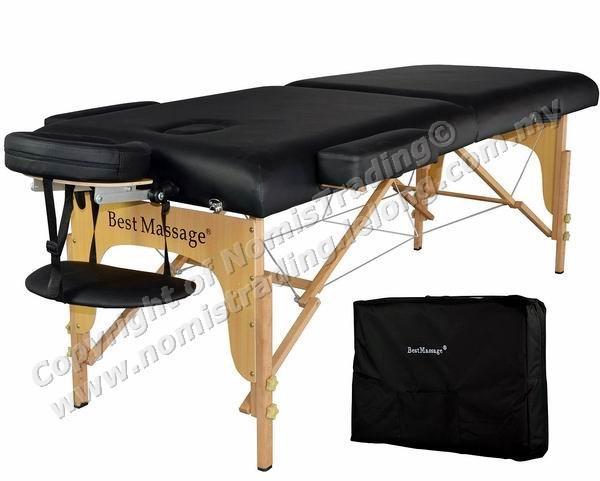 High Grade PU Leather Portable Folding Massage Bed Massage King