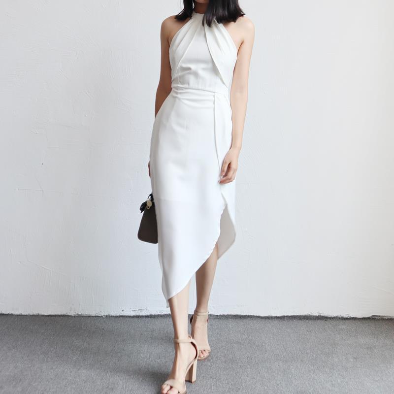 High-Lo Dress Tulip Skirt Wedding Di (end 5/20/2018 4:15 PM)