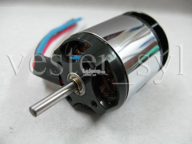 High Power 3800KV Outrunner Brushless Motor For 400 To 450 Size 3D Hel..