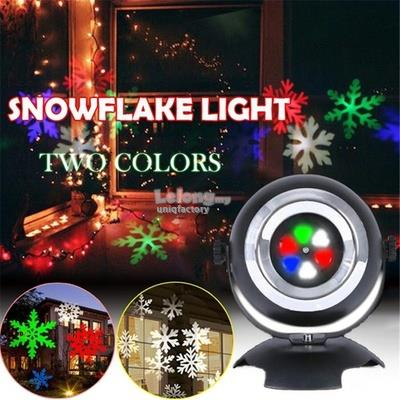 Christmas Projector.New High Power Led Snowflake Projector Motion Xmas Light Christmas