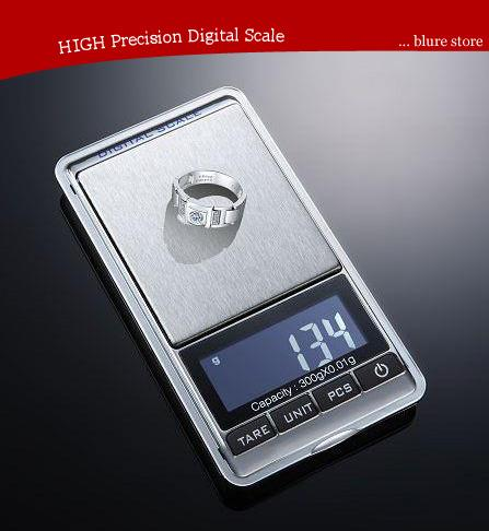 High Precision Digital Pocket jewellery weighting scale 0.01g