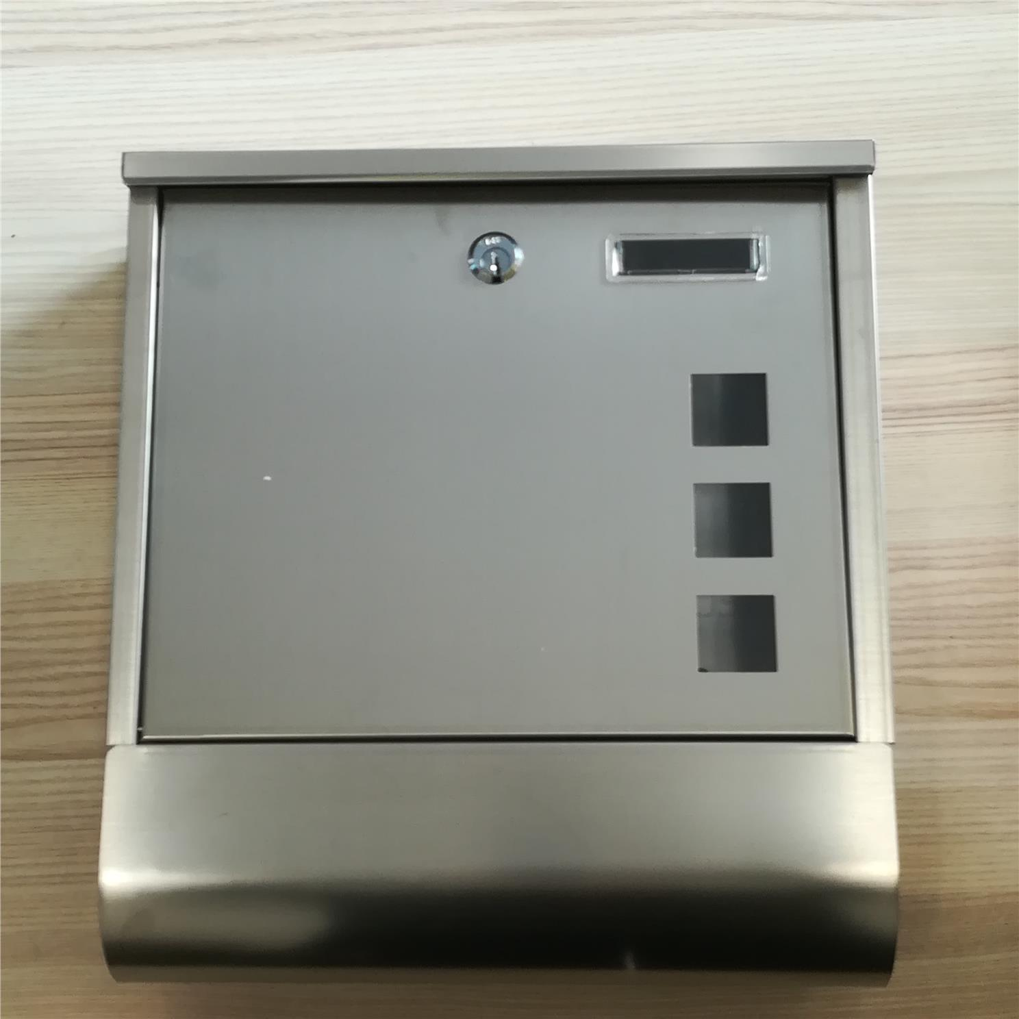 Letter Box Cover B Q: High Quality 304 Stainless Steel Mail (end 1/4/2019 6:15 PM
