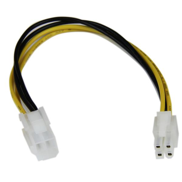 HIGH QUALITY 4 PIN (M) 12v TO 4 PIN (F) 12V EXTENSION CABLE 15CM