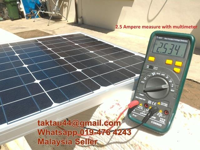 High Quality 50W Solar Panel Monocrystalline Free Energy Electricity