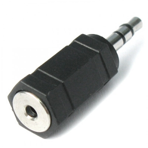 HIGH QUALITY AUDIO 2.5MM (F) TO 3.5MM (M) CONVERTER