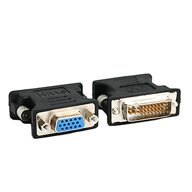 HIGH QUALITY DVI 24+5 (M) TO VGA (F) CONVERTER (CO006)