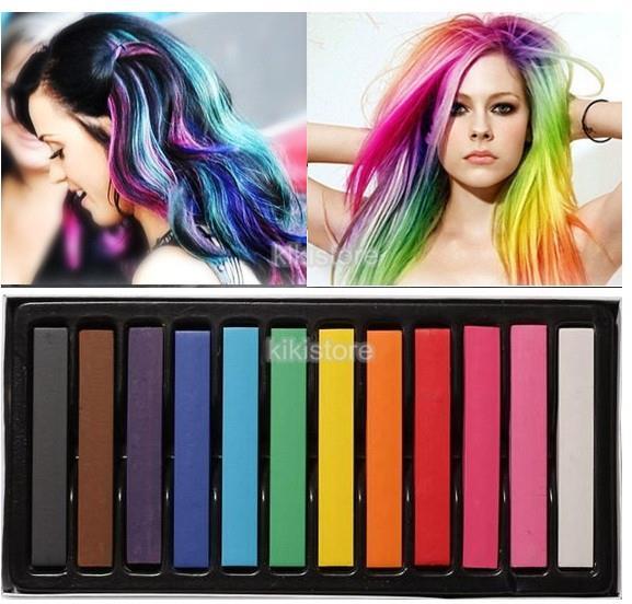 High Quality Hair Chalk Piece Se End PM - Hair colour chalk