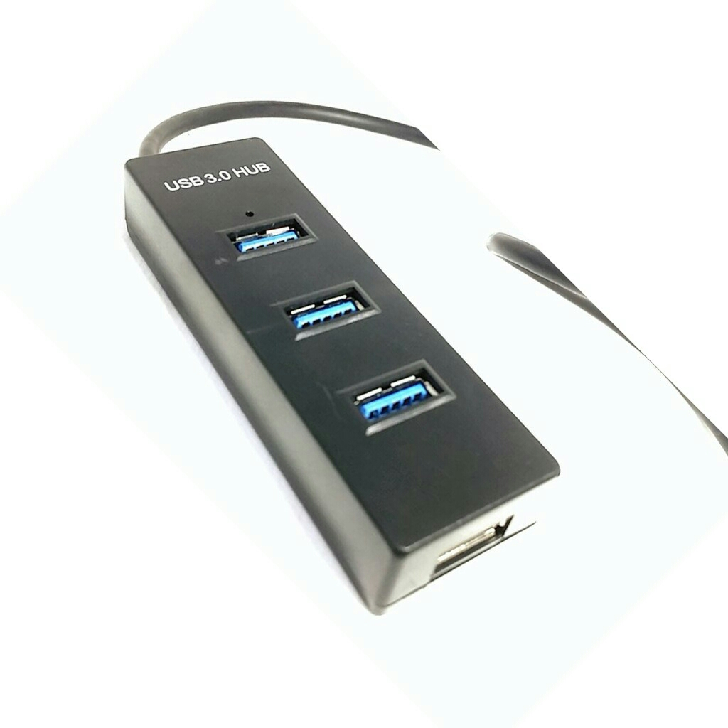 HIGH QUALITY HUB USB 3.0 5G Mpbs with 4 port USB - BLACK
