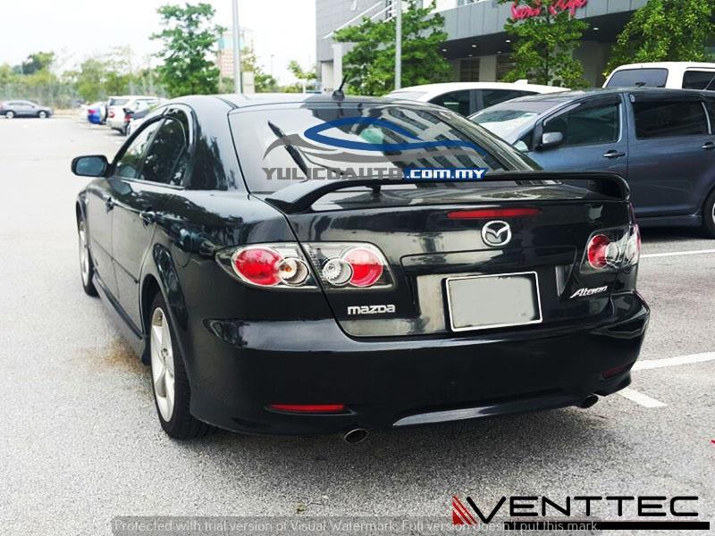 HIGH QUALITY Mazda 5 (MPV) DOOR/WINDOW VISOR YR 10' & ABOVE