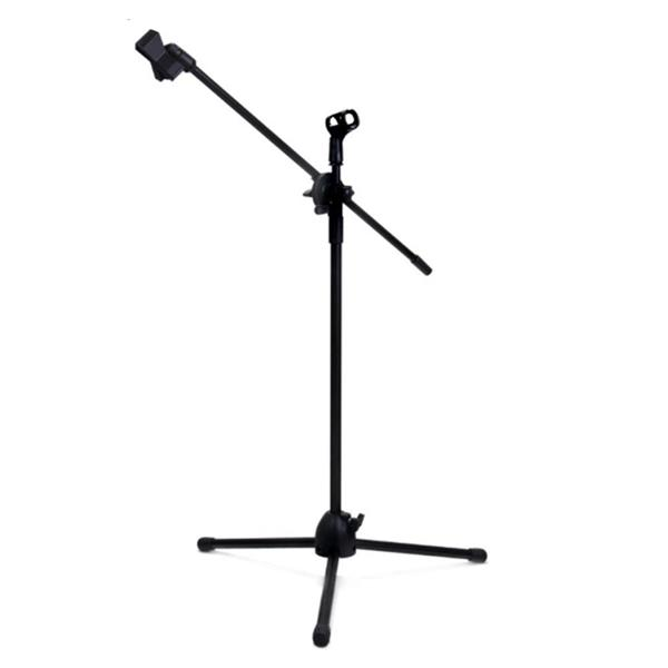 High Quality Microphone Mic Stage Stand (adjustable) + 2 holder clips