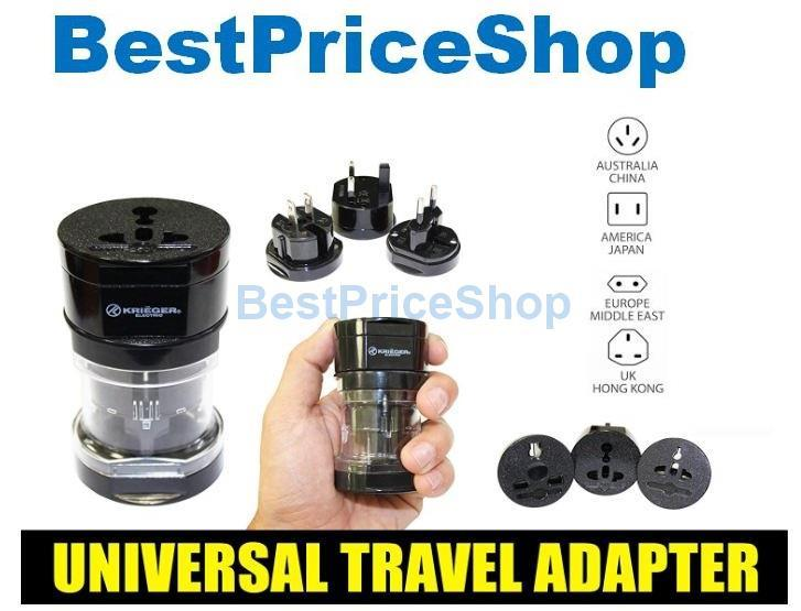 High Quality All In One Universal Travel Adapter Power Adaptor Plug