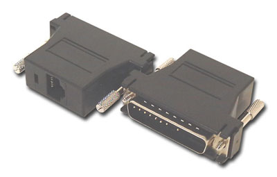 HIGH QUALITY RJ45 TO PARALLEL DB25M CONVERTER