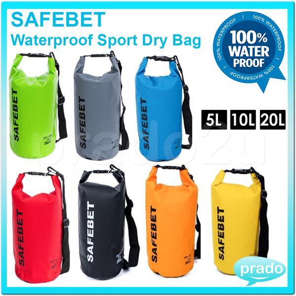 High Quality Safebet Waterproof Sport Dry Bag Belt Wt Shoulder Strap