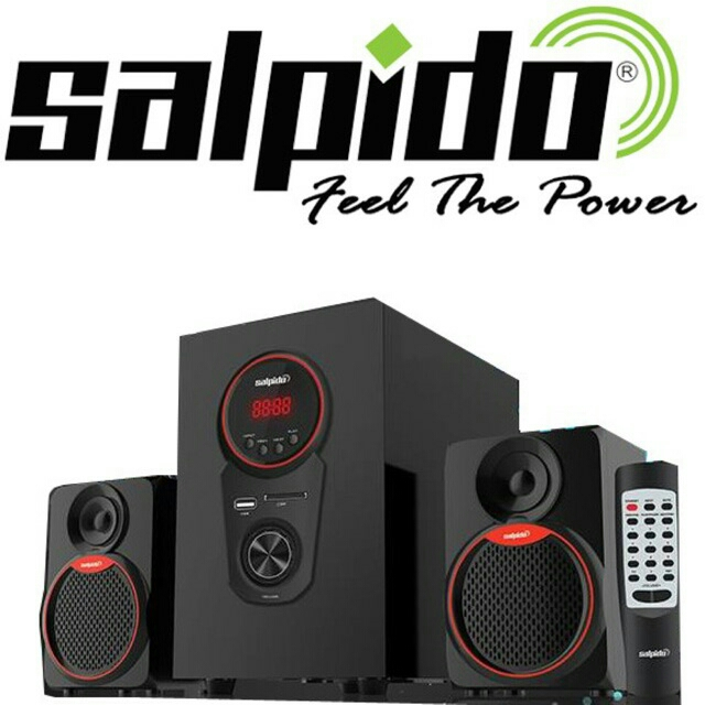 HIGH QUALITY Salpido Caproni2X 2.1 Multimedia Speakers