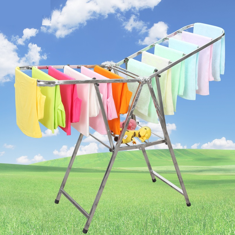 High Quality Stainless Steel Foldable Clothes Drying Rack