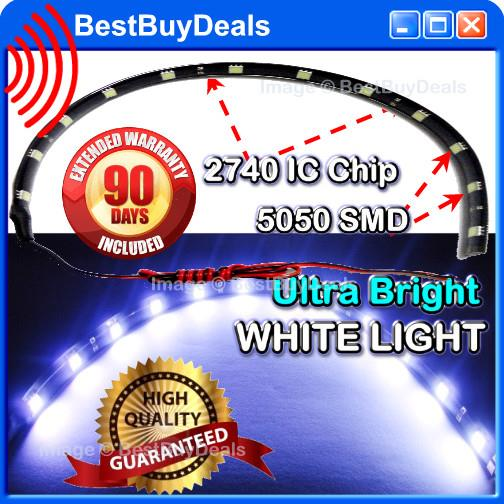 High Quality Ultra Bright White 3 Chip SMD 30cm SMD 12