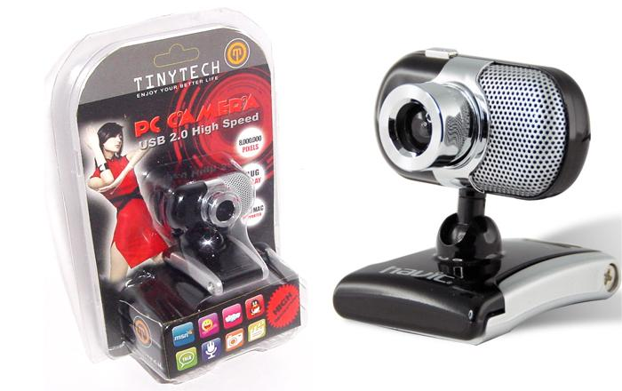 HIGH QUALITY USB2.0 PC/LAPTOP WEBCAM W/ 5 MEGAPIXEL LENS (CAM-PC003)