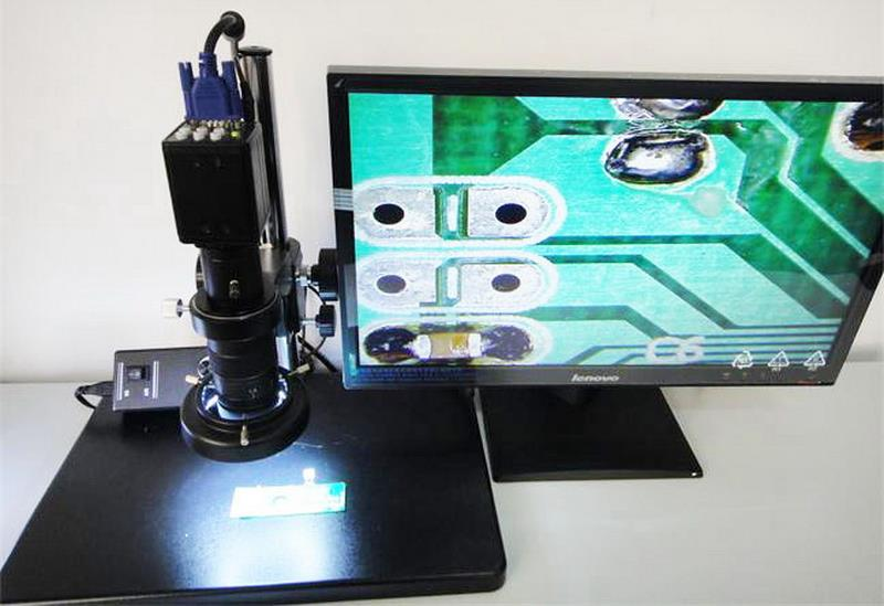 High resolution industry Microscope  vga camera crosshairs ~NEW