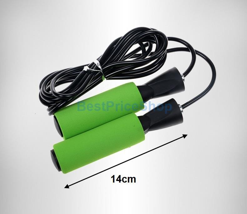 High Speed PVC Cord Skipping Rope Jumping Fast Slimming Burn Fat