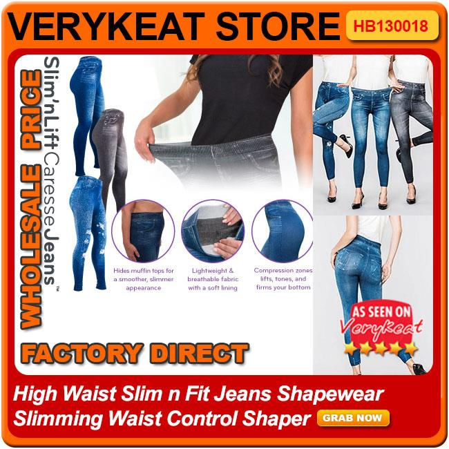 562c804e4df9 High Waist Slim N Fit Jeans Shapewear Slimming Waist Control Shaper. ‹ ›