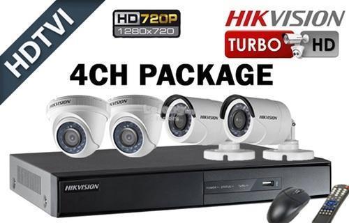 HIK VISION CCTV 4 Channel + 4 Camera (end 9/18/2018 5:15 PM)