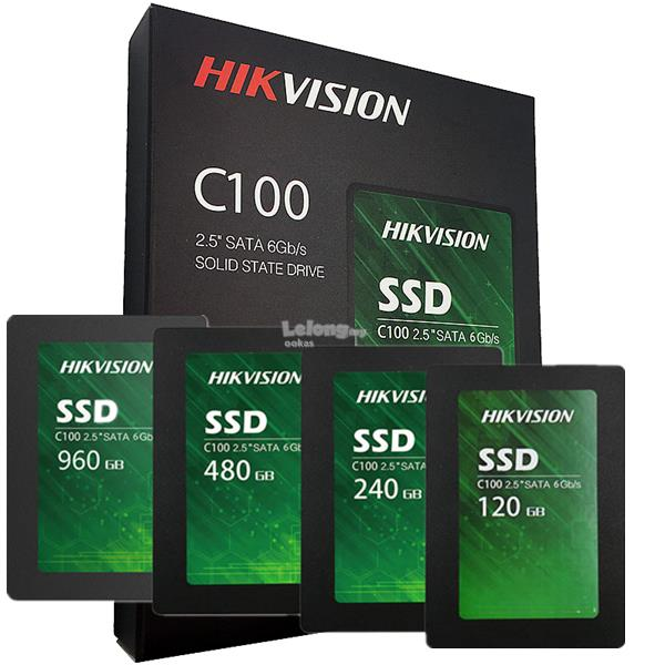 """HIKvision 3D NAND SATA III SSD 2 5"""" Solid State Drive 480GB/240GB/120G"""