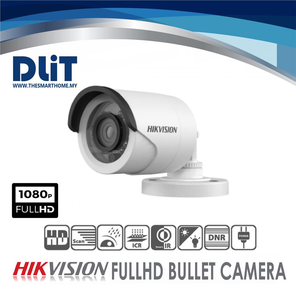 HikVision 4CH 1080p Full HD CCTV Set Package W/O HDD