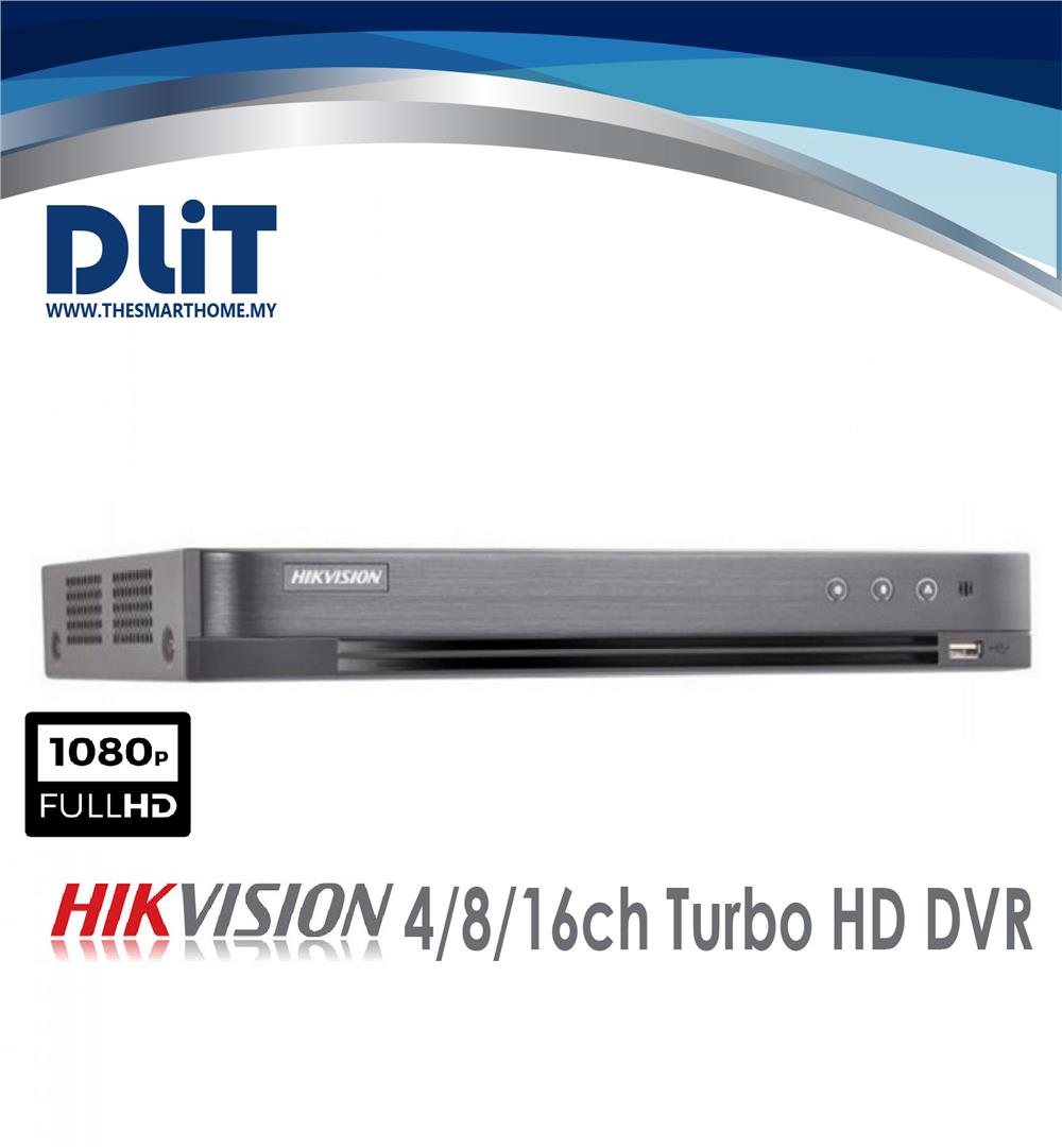 Hikvision 4CH 2MP Ultra Low-Light Analog Full HD Complete Set Package