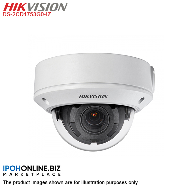 Hikvision DS-2CD1753G0-IZ 5MP Varifocal Network IP Dome Camera