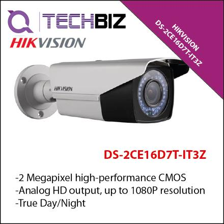 HIKVISION DS-2CE16D7T-IT3Z HD1080P WDR Motorized VF EXIR Bullet Camera