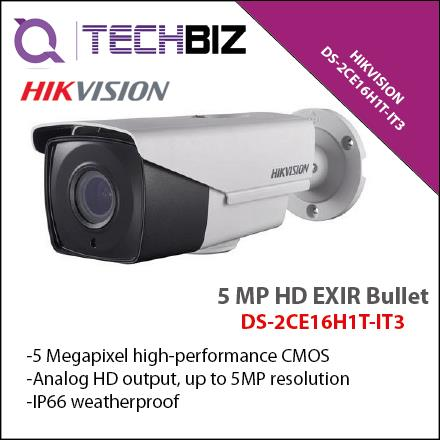 HIKVISION DS-2CE16H1T-IT3 5 MP HD EXIR Bullet CCTV Camera