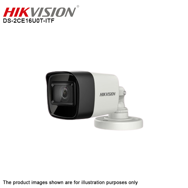 Hikvision DS-2CE16U0T-ITF 8MP 4K 3.6mm 4 IN 1 Analog CCTV EXIR Bullet