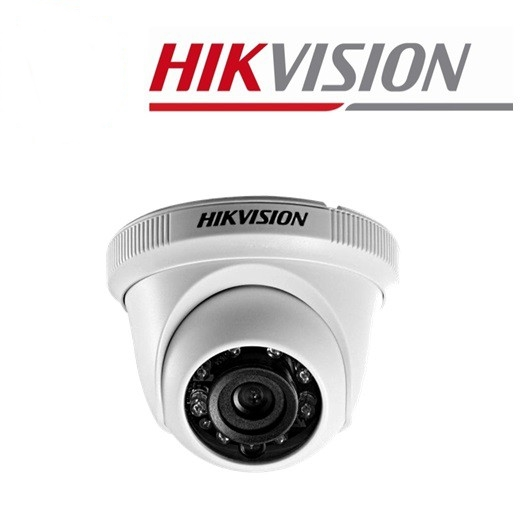 Hikvision DS-2CE56C0T-IRPF 1MP 720P Dome Eyeball HD - TVI IR CCTV Camera