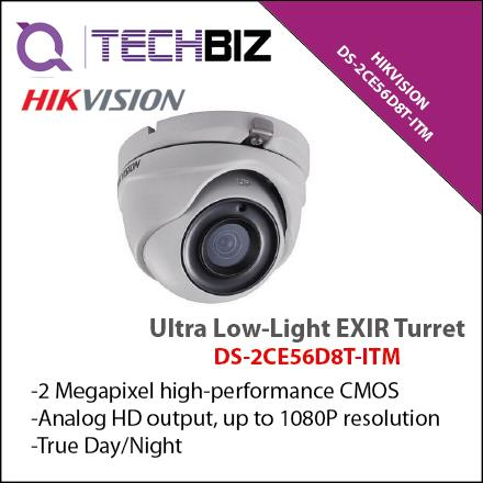 HIKVISION DS-2CE56D8T-ITM 2 MP Ultra Low-Light EXIR Turret Camera