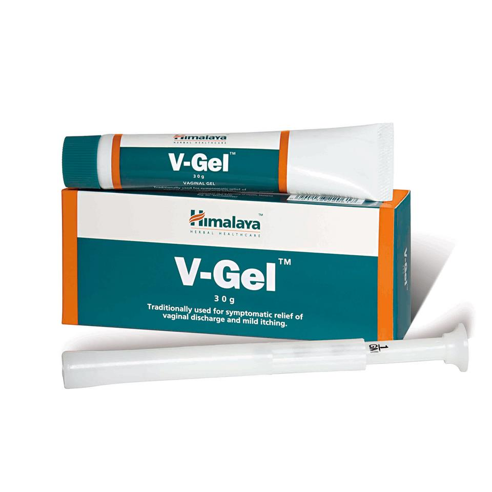 Himalaya V-gel 30g Vagina White Discharge Yeast Infection Treatment