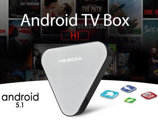 Hệ thống Tivi thông minh HMI H1 RK3229 4K H265 Ultra HD Android 5.1