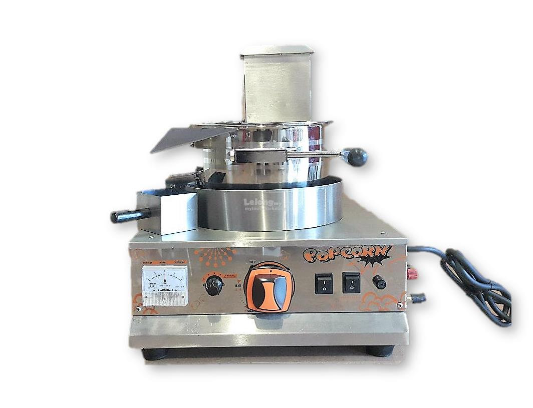 Himitzu Gas Stainless Steel Popcorn Machine