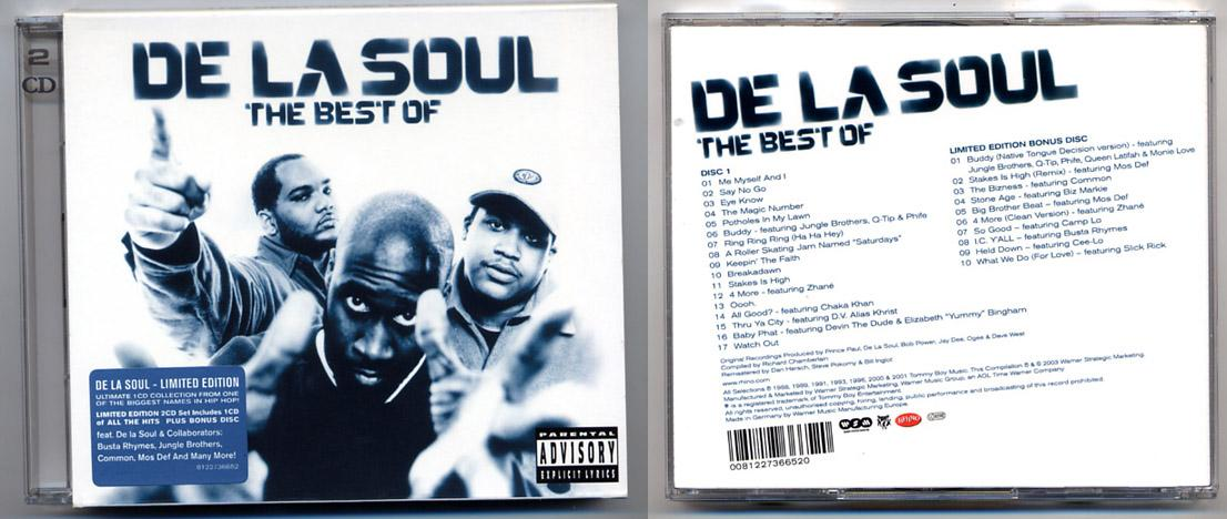 Hip Hop 'The Best of De La Soul' 2 CD