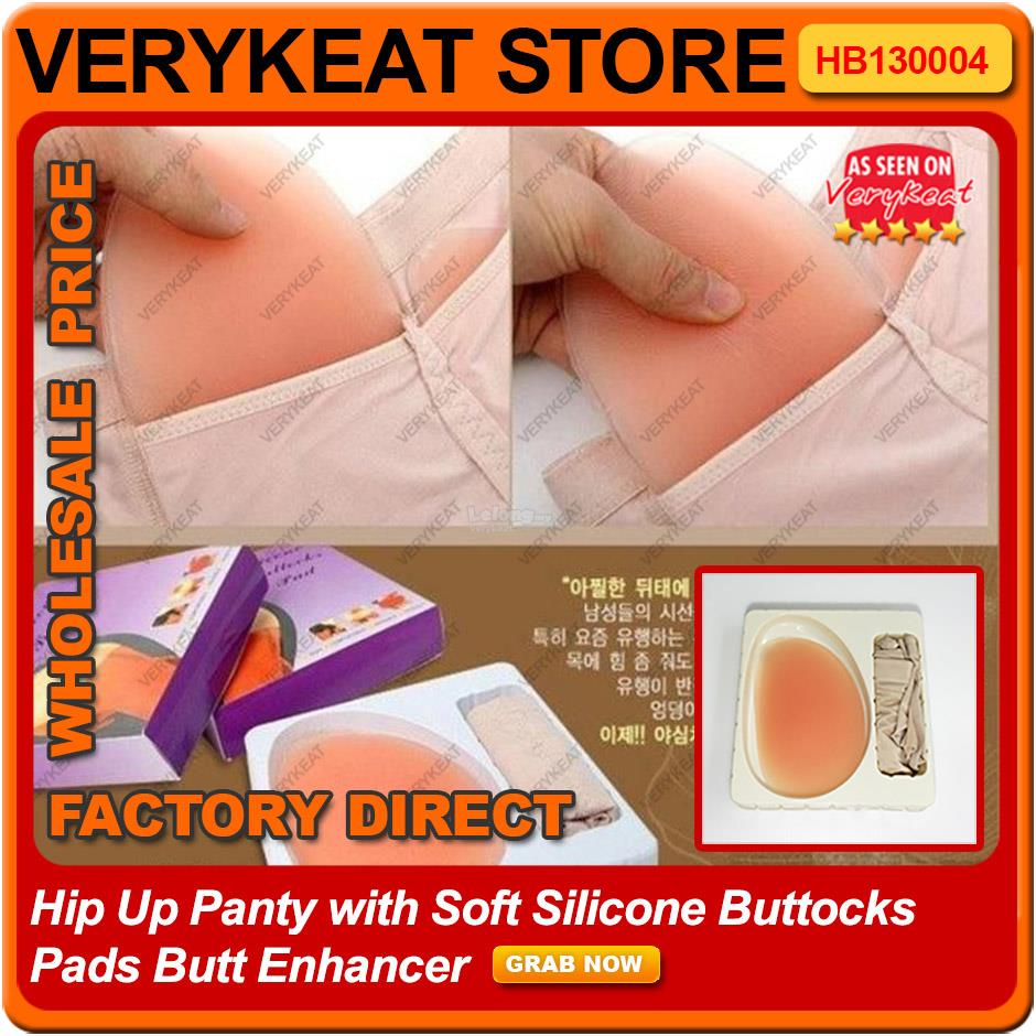 ab21999d5 Hip Up Panty with Soft Silicone Buttocks Pads Butt Enhancer. ‹ ›