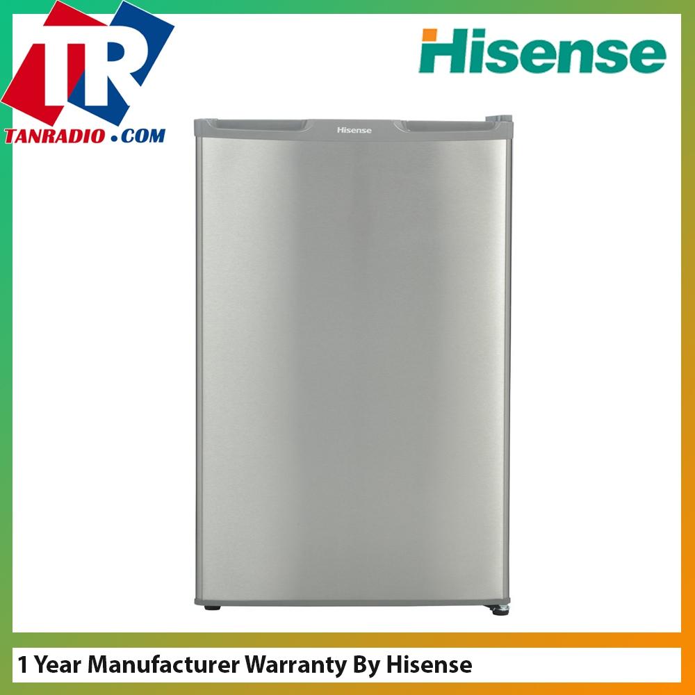 Hisense 140l 1 Door Fridge Rr155d5agn Easy Cleaning Tempered Glass She